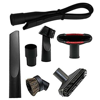 Vacuum Attachment Cleaner Kit Brush Nozzle Crevice Cleaning Accessories 7 Pieces