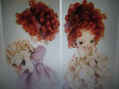 Doll Wig For  1/3 & 1/4 Bjd Girl