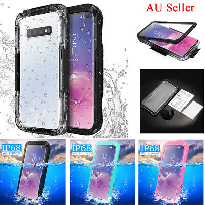 For Samsung Galaxy S10+ Plus S10e Note 9/8/10+ Shockproof Waterproof Case Cover
