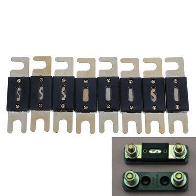 1 x bolt-on fuse fusible link fuse 50/125/150/175/250/300/350/400A auto fuses r*