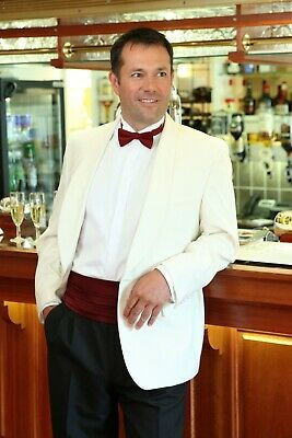 Mens Ex-Hire Cream Tuxedo Suit Dinner Jacket (Various sizes & lengths available)