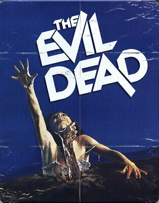 The Evil Dead (1981 Bruce Campbell) (SteelBook) BLU-RAY NEW
