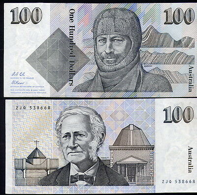 $100  NOTE - PAPER  in  VERY  CRISP  CONDITION - AND VERY  CHEAP
