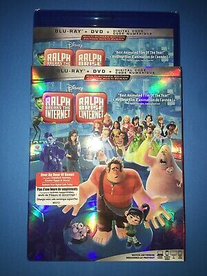 Ralph Breaks the Internet ( Blu-ray/DVD/Digital ) with Slipcover