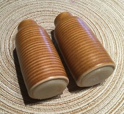 Denby Langley Canterbury Salt And Pepper Shakers Mid Century