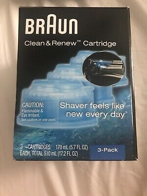 Braun Syncro Clean And Renew CCR 3 Shaver System Refill - Pack of 3