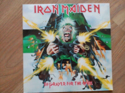 LP IRON MAIDEN no prayer for the dying RUSSIA 1990 UNPLAYED