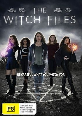 The Witch Files (DVD, 2018) NEW