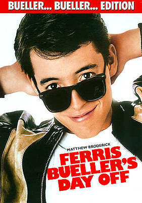 Ferris Buellers Day Off DVD Bueller Bueller Edition NEW & SEALED