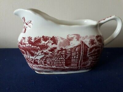 w.h grindley & co ltd ' english country inns' sauce boat