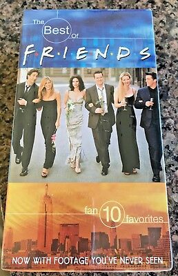 1990's TV show Friends, The Best Of Friends Volume 1 & 2 VHS Video Tapes New!!!
