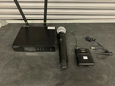 Shure QLXD Wireless Combo System