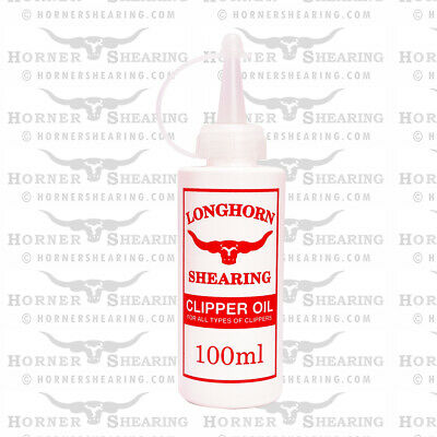 Clipper Oil 100ml For Horse / Cattle Clippers
