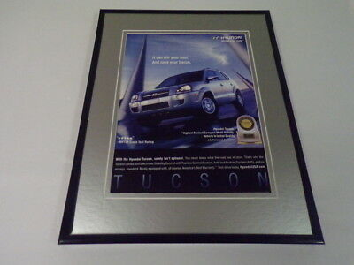 2006 Hyundai Tucson Framed 11x14 ORIGINAL Vintage Advertisement
