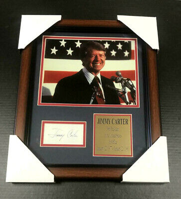 President Seal Jimmy Carter Facsimile 44th President 8x10 Gloss Photo Picture