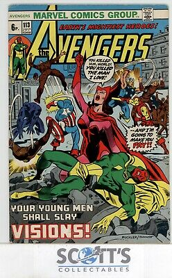 Avengers  #113  Vg   ( Copy 2 ,bagged & Boarded)