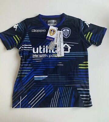 LUFC Replica Away Shirt 18/19 BNWT Size 6 Years Personalised ' NO. 5 GEORGE'