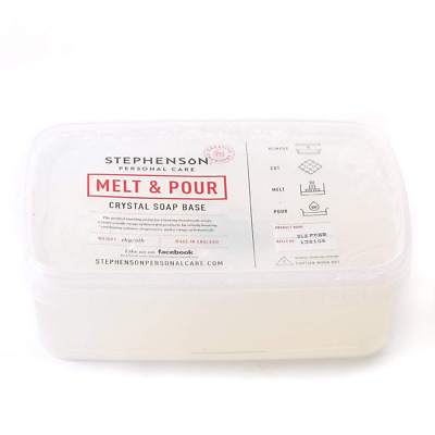 Melt and Pour Soap Base Clear SLS FREE - 1Kg