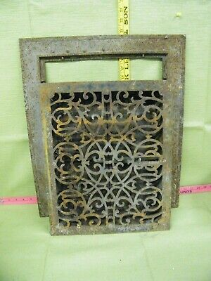 Vintage Cast Iron Vent Register Heating Gates