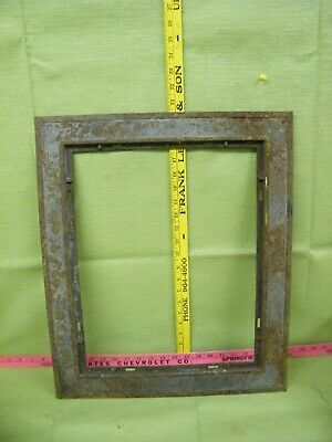 Vintage Cast Iron Vent Register Heating Gates Frame