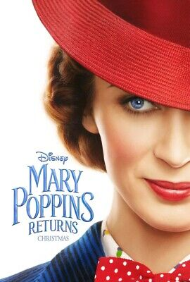 Mary Poppins Returns (Blu Ray) NEW w/o case (disc only)