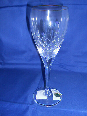 Waterford Crystal Lismore Nouveau Platinum White Wine Glass - New