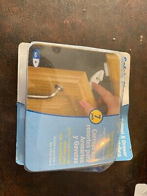 Safety 1st Cabinet and Drawer Spring Latches (7 Pack) (BRAND NEW!) FAST SHIPPING