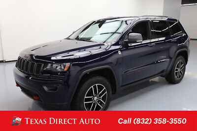 2018 Jeep Grand Cherokee Trailhawk Texas Direct Auto 2018 Trailhawk Used 3.6L V6 24V Automatic 4WD SUV