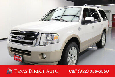 2012 Ford Expedition 4x2 King Ranch 4dr SUV Texas Direct Auto 2012 4x2 King Ranch 4dr SUV Used 5.4L V8 24V Automatic RWD SUV