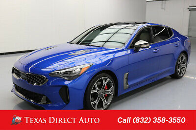 2018 KIA Stinger GT2 Texas Direct Auto 2018 GT2 Used Turbo 3.3L V6 24V Automatic AWD Sedan Premium