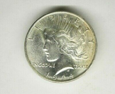 Peace Silver Dollar 1924  Uncirculated  Condition   ................1419
