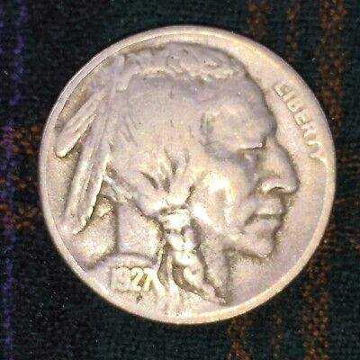 US 5 Cent Buffalo Nickel 1927 S - F
