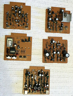 AMPEX ATR-700 Reel to Reel tape deck recorder BOARD Lot of five 5 Teac BOARDS