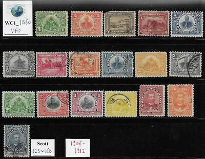 WC1_1860 HAITI. Useful lot of 1906-1912 stamps. Used