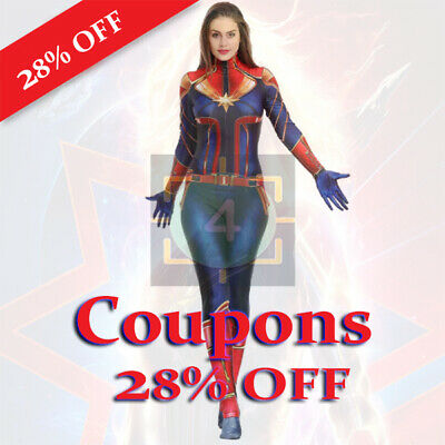 Mondo Captain Marvel costume 35% OFF 1Coupons store/online FAST Delivery 60s
