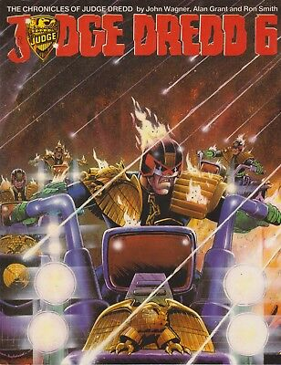 The Chronicles Of Judge Dredd - Judge Dredd 6, 1985 Titan Books