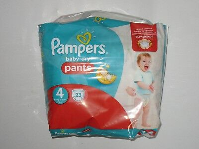 46 Pampers Baby Dry Pants Nappies Size 4 easy change