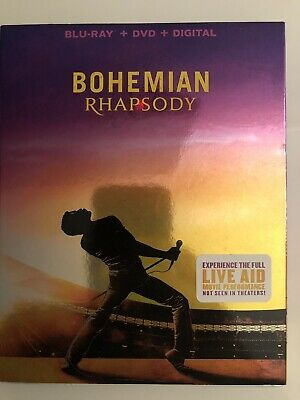 Bohemian Rhapsody  (Blu Ray + DVD) NO Digital