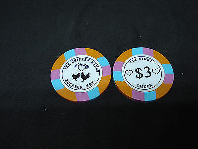 Chicken Ranch Houston TX Brothel Collectors Poker Chip Cathouse Whore House Oran