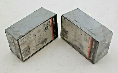 Reddot IH3-1-LM Outlet Box Weather Proof 1/2' 3 Hole Silver T11 (LOT OF 2)