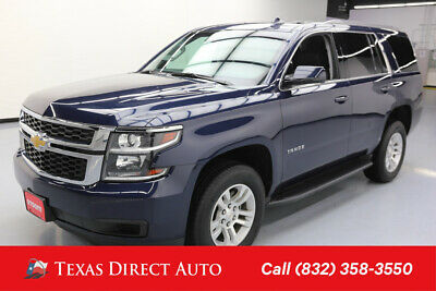 2018 Chevrolet Tahoe LT Texas Direct Auto 2018 LT Used 5.3L V8 16V Automatic 4WD SUV Bose Premium OnStar