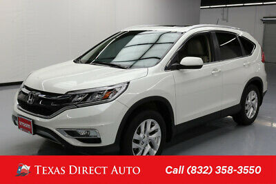 2015 Honda CR-V EX-L Texas Direct Auto 2015 EX-L Used 2.4L I4 16V Automatic FWD SUV Moonroof