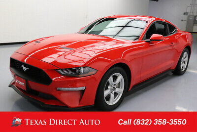 2018 Ford Mustang EcoBoost 2dr Fastback Texas Direct Auto 2018 EcoBoost 2dr Fastback Used Turbo 2.3L I4 16V Automatic