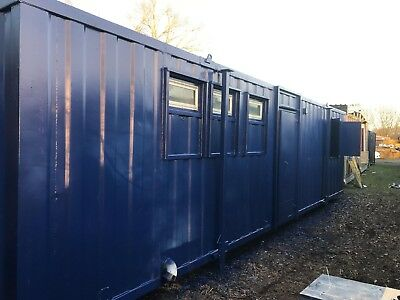 £3,000+vat 32x10ft AntiVandal Container/Portable Office/canteen/toilets Reduced