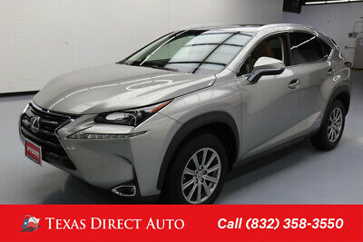 2017 Lexus NX AWD 4dr Crossover Texas Direct Auto 2017 AWD 4dr Crossover Used Turbo 2L I4 16V Automatic AWD SUV