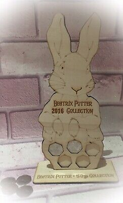 2016 Laser Cut Beatrix Potter 50p Fifty Pence Coin Collector Album Folder