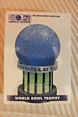 Pro Set 1991 World League of American Football Cards 1-43 Variants SEALED NFL