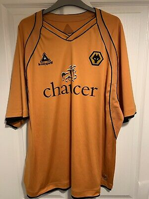 2006/2008 Wolverhampton Wanderers home football shirt LCS Wolves XXL mens 2XL