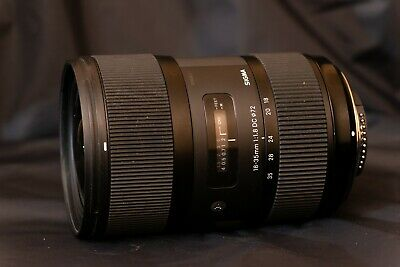 Sigma 210-306 18-35mm f/1.8 HSM DC Lens for Nikon