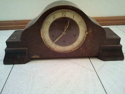 Antique Westminter German Mantle Clock By E . JAUCH